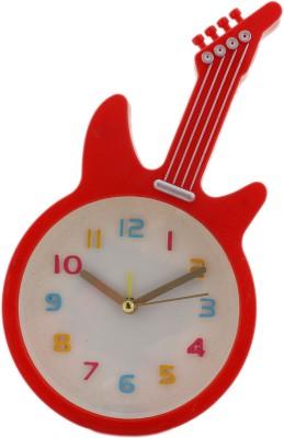 Tootpado Analog Red Clock