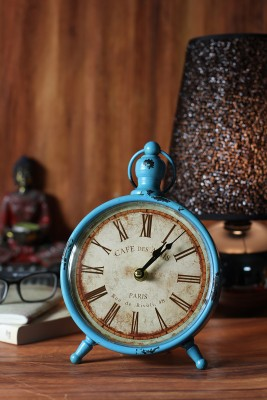 JB Collection Blue Clock