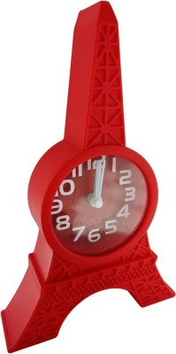 Klassik Analog Red Clock