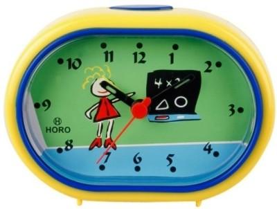 Horo Analog Yellow Clock