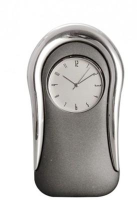 HAPS Analog Metal Gray/Silver Clock