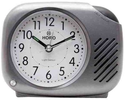 Horo Analog Silver Clock