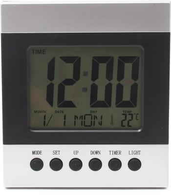 Bazaar Pirates Digital Silver, Black Clock