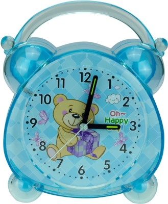 Zeva Analog Blue Clock