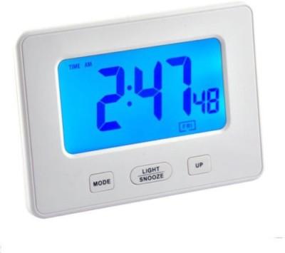 Minura Digital White Clock