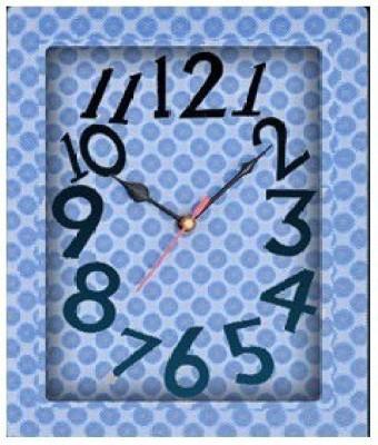 Jazam Analog Blue Clock
