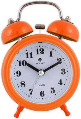 ZENART Analog Orange Clock