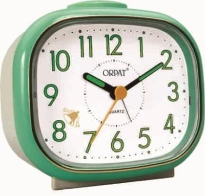 Orpat Analog Green Clock