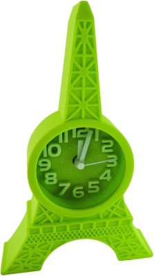 Klassik Analog Green Clock
