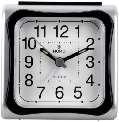 Horo Analog Black, Grey Clock