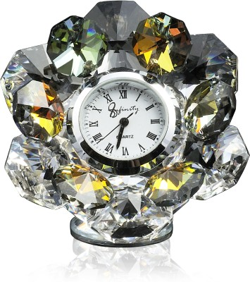 Infinity Analog MultiColor Clock