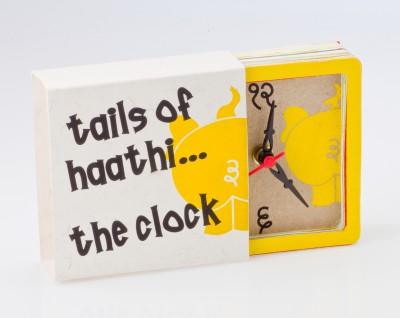 Fibres Analog Multicolour Clock