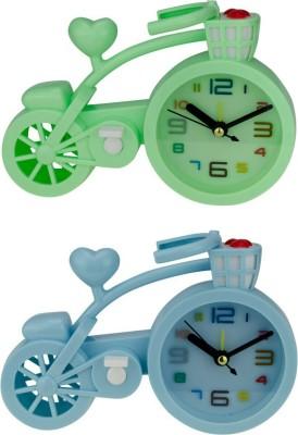 Zeva Analog Multicolor Clock