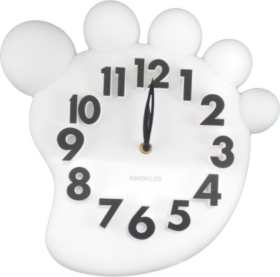 GeekGoodies Analog White Clock