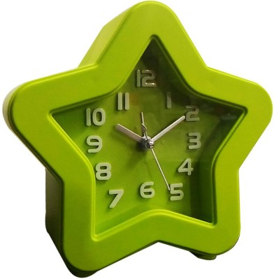 Gadget-Wagon Analog Green Clock