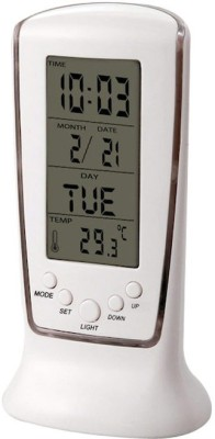 Empreus Digital White Clock
