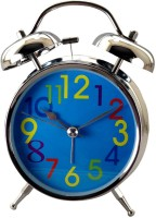 Gift Island Analog Blue Clock