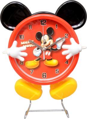 CSM Analog Red Clock