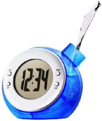 Big Impex Digital Blue Clock