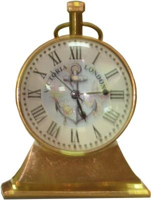 ANTIQUA V GROUP Analog golden Clock
