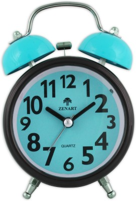 ZENART Analog Blue Clock