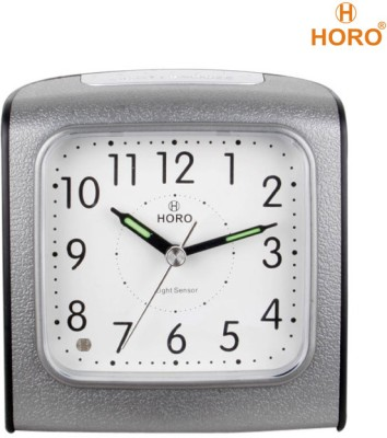 Horo Analog Shilver Clock