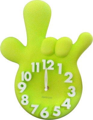 GeekGoodies Analog Green Clock