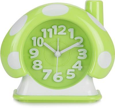 Design O Vista Analog Green, White Clock