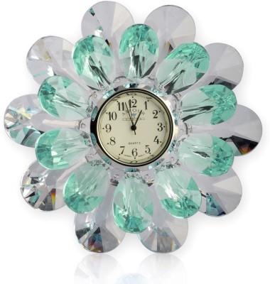 Infinity Analog Green Clock