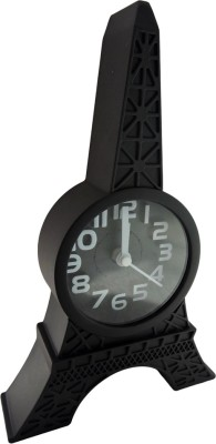 Klassik Analog Black Clock