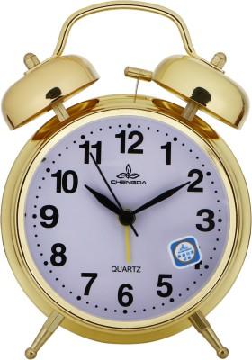 Shopingfever Analog Gold Clock