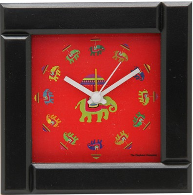 The Elephant Company Analog Multicolor Clock