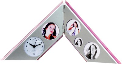 DIZIONARIO Analog Silver Clock