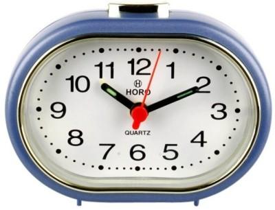 Horo Analog Metallic Violet Clock