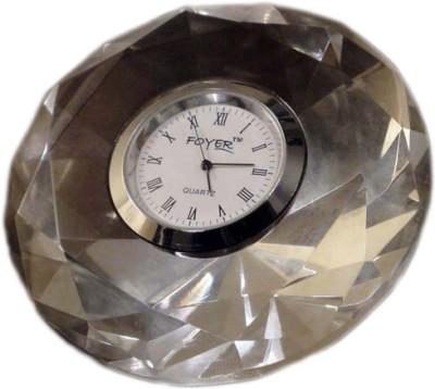 Foyer Analog Clear Clock