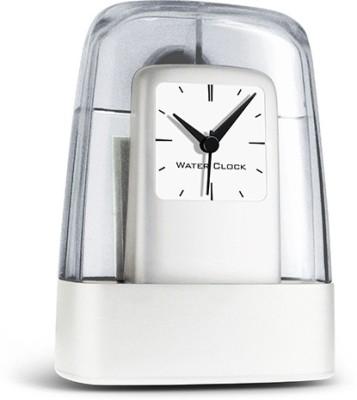 HitPlay Analog Silver Clock