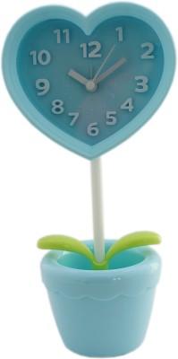 Tootpado Analog Blue Clock