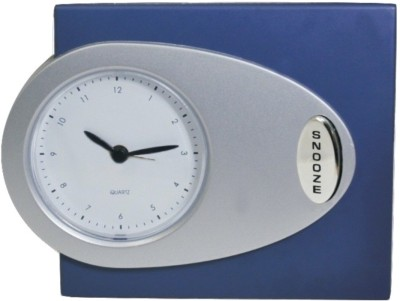 HAPS Analog SILVER Clock