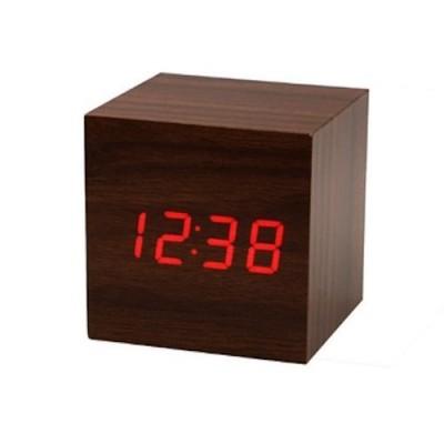 Gizmo World Digital Brown Clock