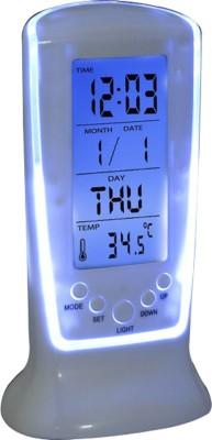 Atam Digital White Clock