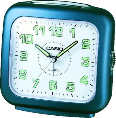 Casio Analog White, Blue Clock