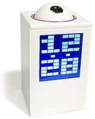 AGGADGETS Digital White Clock