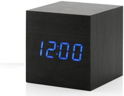 Gizmo World Digital Black Clock