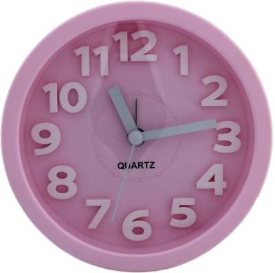 Tootpado Analog Pink Clock