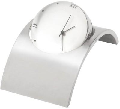 Jasg Analog Silver Clock