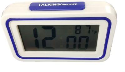 Sahibuy Digital Blue Clock