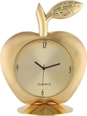 KT Analog Gold Clock