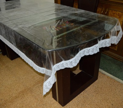 Rhymes Solid 8 Seater Table Cover(Multicolor, PVC) at flipkart