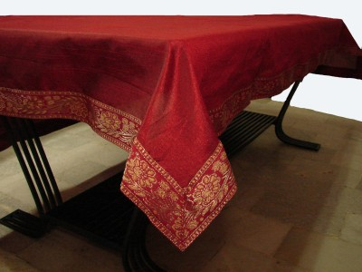 Home Shine Solid 4 Seater Table Cover