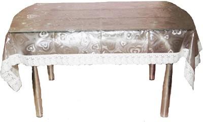 Fanto Cover Self Design 4 Seater Table Cover